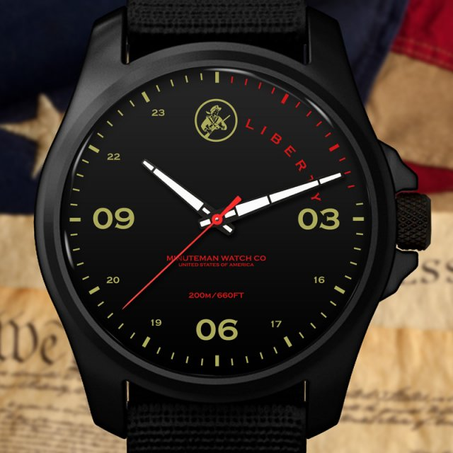 Minuteman DLC Liberty Watch