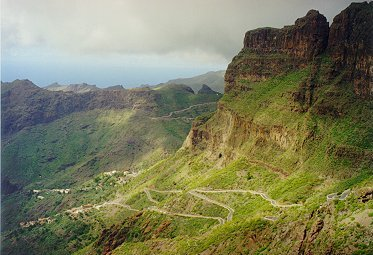 Tenerife backpacking