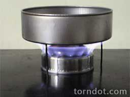 homemade alcohol stove
