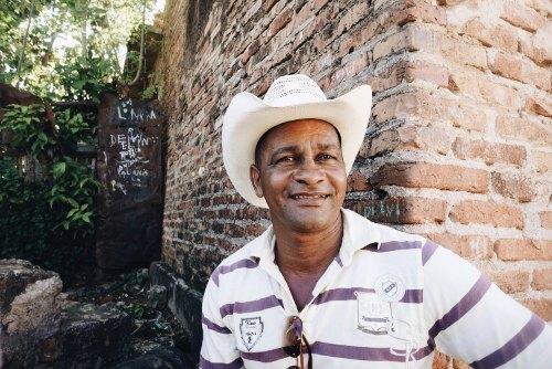 Cuban man in hat