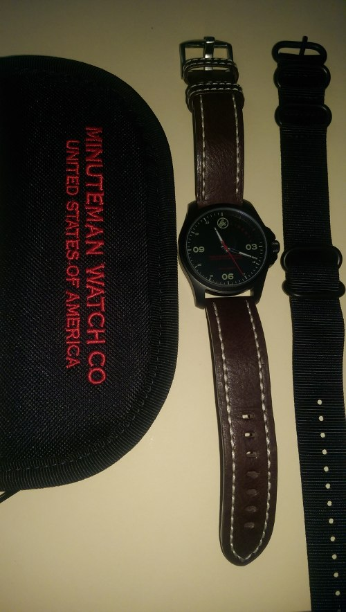 Minuteman DLC Liberty Watch with case