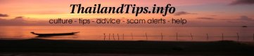 thailand travel tips banner