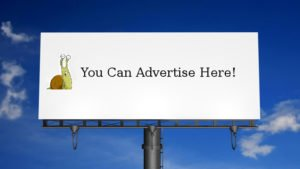 Advertise on Startbackpacking.com billboard
