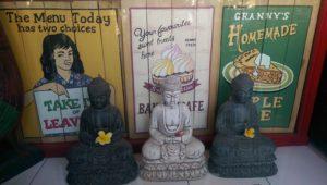 Three Buddhas in Ubud, Bali