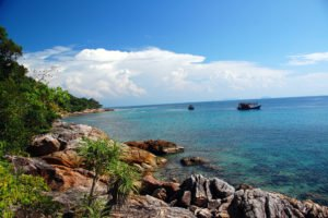 Coral Bay on Perhentian Kecil Island in Malaysia