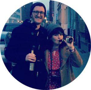 Phil Norris and Caroline Howley
