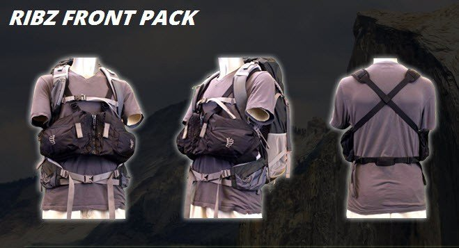 Ribz Front Pack configurations