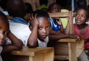 teaching english children in Uganda