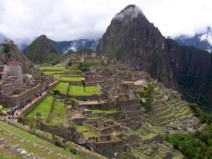 Walking to Machu Picchu