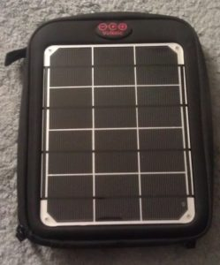 Voltaic solar charge pack